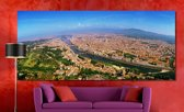 Florence in Panorama | 240 x 100 cm