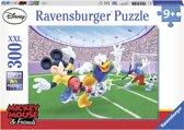 Ravensburger puzzel Disney Mickey Mouse doelpunt! - Legpuzzel - 300 stukjes