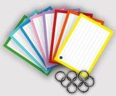 Flashcards / Flitskaarten / Systeemkaarten A7 Perforatie met 8 ringen