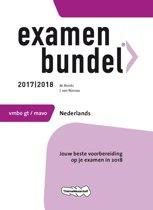 Examenbundel vmbo-gt/mavo Nederlands 2017/2018