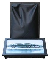 L-line by Jis Laptray, Schoottafel, Schootkussen, Laptoptafel, Dienblad met kussen Porsche – 32,5 x 43 cm