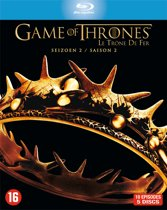 DVD cover van Game Of Thrones - Seizoen 2 (Blu-ray)