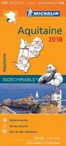 Aquitaine 17524 carte michelin kaart 2018