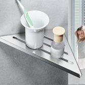 Corner Shelf / Hoek planchet RVS 30,5 cm
