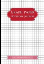 Graph Paper Notebook Journal 8.5 X 11 Inches 120 Pages