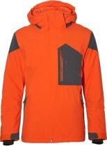 O'Neill PM Infinite Wintersportjas - Maat S  - Mannen - oranje/ donker grijs