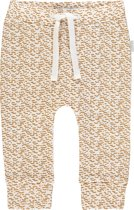 Noppies Unisex Comfortabele broek met all over print Penfield - Apple Cinnamon - Maat 80