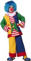 Clown kostuum voor kinderen 140