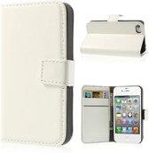 iPhone 4 4s Portemonnee Hoesje Case Wit