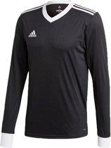 adidas Sportshirt - Maat M  - Mannen - zwart/wit