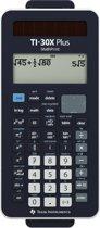 Texas Instruments Ti-30X Plus Mathprint Schoolrekenmachine Werkt Op Batterijen Werkt Op Zonne-Energie Zwart Aantal Displayposities: 16