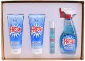 Fresh Couture SET Eau de toilette spray 100ml + body lotion 100ml + shower gel 100ml