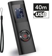 LifeGoods Laser Afstandsmeter - 40 Meter Bereik