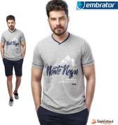 Embrator Huispak / Shortama shirt & short 670 maat L
