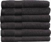 Katoenen Handdoeken Hotelkwaliteit – 15 Pack – 70 x 140 cm – Zwart