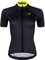 Leopard Grey Cycling Jersey
