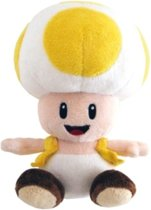Nintendo Plush figure Toad yellow 17cm /Figures