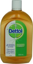 Dettol Reinigingslotion Antiseptic Disinfectant Liquid Lotion 500 ML
