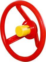Stuur Kunststof Rood met Gele Toeter