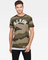 G-star T-shirt Camo Legergroen (D15247 - B719 - A695)
