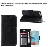 PaxxMobile Basixx Hoesje voor Samsung Galaxy S5 Mini G800 Boek Hoesje Book Case Zwart
