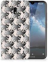 Nokia 2.2 TPU Hoesje Salamander Grey