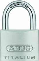 Abus-Hangslot-Titalium-30mm twins-blister-64TI/30 twins