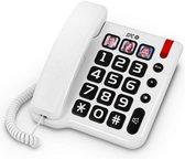 Vaste Telefoon Basis Voor Ouderen Wit
