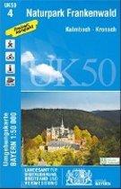 Naturpark Frankenwald 1 : 50 000