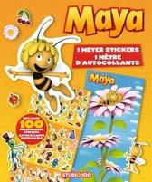 Studio 100 Stickerboek Met Groeimeter Maya De Bij