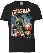 Logoshirt T-Shirt Godzilla - King Of The Monsters