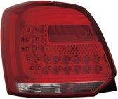 Depo Set LED Achterlichten Volkswagen Polo 6R 2009-2014 - Rood/Helder