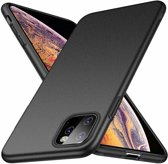 ShieldCase Ultra thin case iPhone 11 Pro Max (zwart) +  Glazen Screenprotector