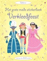 Grote Mode Stciker-Verkleedfeest