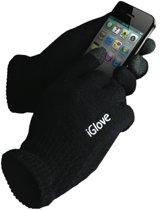 iGloves / Zwart / Bedien uw smartphone met handschoenen aan / iGlove