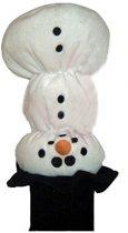 Headcover Sneeuwpop met sok