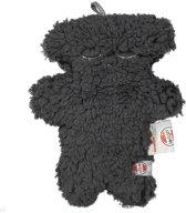Lodger Knuffel - Fuzzy Scandinavian - Donkergrijs - 10 cm