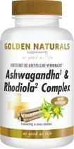 Golden Naturals Ashwaganda & Rhodiola Complex (60 vega caps.)
