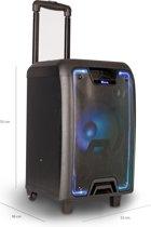 NGS Wild Metal - Bluetooth Speaker - 120W - Draagbaar - Draadloos - Zwart