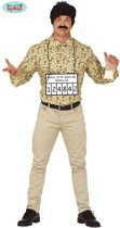 Maffia Kostuum | Drugskoerier Pablo Columbia Man | Maat 52-54 | Carnaval kostuum | Verkleedkleding