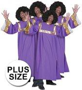 Gospel zanger kostuum heren 56 (2xl)