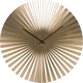 Karlsson Klok Wall clock Sensu XL steel gold