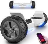 Evercross 2018 Best 8.5 inch SUV Hoverboard  met APP Functie 700W Motion V.5 Bluetooth speakers en met TAOTAO moederbord