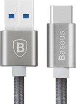 Baseus Sharp Series USB 2.0 naar USB-C Kabel 1 Meter Grey