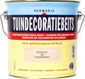 Hermadix Tuindecoratiebeits 765 Dover Wit - 2.5 l