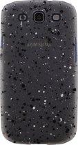 Xccess Cover Spray Paint Glow Samsung Galaxy S3 I9300 Black