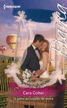 A salvo no vestido de noiva
