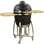 EliteGrill 55 Black BBQ met regenhoes - Barbeque - Kamado