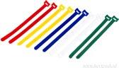 Velcro Kabelbinders 10 delige set 17mm x 310mm (098.0615)