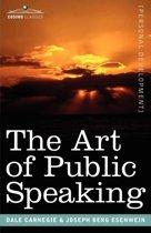 Boek cover The Art of Public Speaking van Dale Carnegie